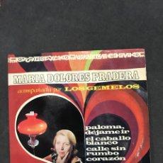 Discos de vinilo: MARIA DOLORES PRADERA SINGLE EP DE 1968. Lote 195230918