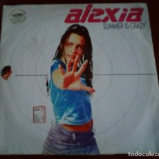 Discos de vinilo: ALEXIA - SUMMER IS CRAZY - MAXI SINGLE.12 . Lote 195231446