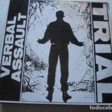 Discos de vinilo: VERBAL ASSAULT TRIAL. Lote 195232247