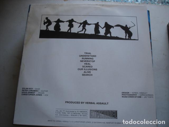 Discos de vinilo: Verbal Assault Trial - Foto 2 - 195232247