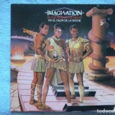 Discos de vinilo: IMAGINATION,EN EL CALOR DE LA NOCHE(IN THE HEAT OF THE NIGHT)EDICION ESPAÑOLA DEL 82. Lote 195232566