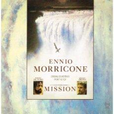 Discos de vinilo: ENNIO MORRICONE - THE MISSION - B.S.O. - LP 1986. Lote 195233660