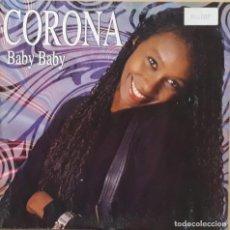Discos de vinilo: CORONA - BABY BABY. Lote 195233771