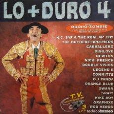 Discos de vinilo: LO + DURO 4 (LO MÁS DURO 4). Lote 195234006
