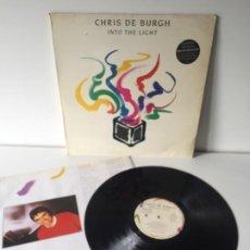Discos de vinilo: CHRIS DE BURGH INTO THE LIGHT. Lote 195234326