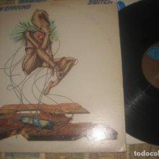 Discos de vinilo: GOLDEN EARRING SWITCH(1975-TRACK RECORDS) OG USA +ENCARTE Y LETRAS HARD ROCK. Lote 195235010