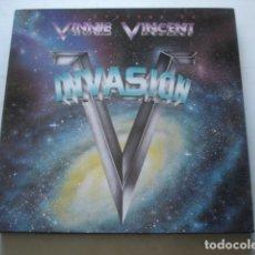 Discos de vinilo: VINNIE VINCENT INVASION ALL SYSTEMS GO. Lote 195235228