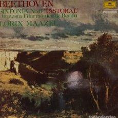Discos de vinilo: BEETHOOVEN SINFONÍA Nº 6 EN FA MAYOR PASTORAL - FOCO 1979. Lote 195235926