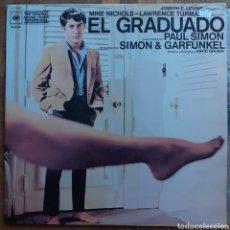 Discos de vinilo: EL GRADUADO. BANDA SONORA ORIGINAL. CBS S-70042. ESPAÑA, 1970. FUNDA VG+. DISCO VG++.. Lote 195236083