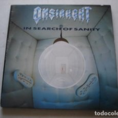 Discos de vinilo: ONSLAUGHT IN SEARCH OF SANITY. Lote 195236127