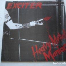 Discos de vinilo: EXCITER HEAVY METAL MANIAC. Lote 195237066