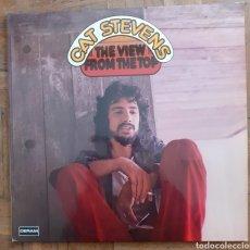 Discos de vinilo: CAT STEVENS. THE VIEW FORMA THE TOP. GATEFOLD. 2 LP. DECCA SD 3005/1-2. GERMANY. FUNDA Y DISCOS VG++. Lote 195237252