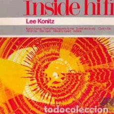 Discos de vinilo: LEE KONITZ - INSIDE HI-FI (LP, ALBUM, MONO, RE) LABEL:ATLANTIC SPECIAL, ATLANTIC SPECIAL CAT#: 590 . Lote 195238121