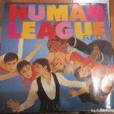 Discos de vinilo: THE HUMAN LEAGUE: RED FASCINATION. Lote 195238126