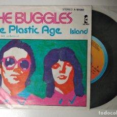 Discos de vinilo: THE BUGGLES - THE PLASTIC AGE (ISLAND 1980). Lote 195238346
