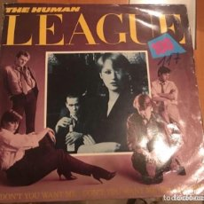 Discos de vinilo: THE HUMAN LEAGUE: 100. Lote 195238517