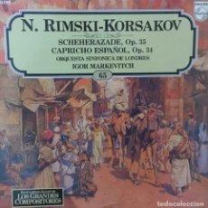 Discos de vinilo: N. RIMSKI - KORSAKOV. Lote 195238636