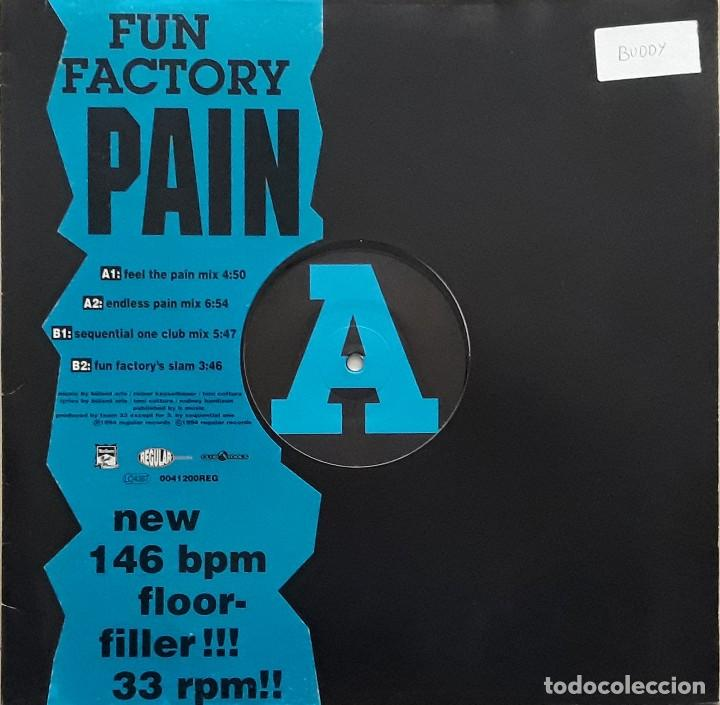 Discos de vinilo: FUN FACTORY - PAIN - Foto 1 - 195238666