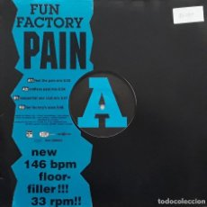Discos de vinilo: FUN FACTORY - PAIN. Lote 195238666