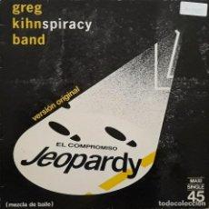Discos de vinilo: GREG KIHN BAND - EL COMPROMISO (JEOPARDI). Lote 195239692