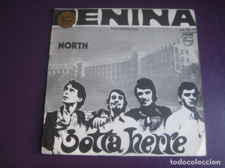 JOTTA HERRE SG PHILIPS 1969 - PENINA / NORTH - PSICODELIA POP PORTUGAL (Música - Discos - Singles Vinilo - Pop - Rock Extranjero de los 50 y 60)