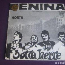 Discos de vinilo: JOTTA HERRE SG PHILIPS 1969 - PENINA / NORTH - PSICODELIA POP PORTUGAL . Lote 195239945