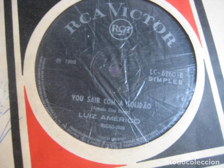 LUIZ AMÉRICO SG RCA BRASIL - VOU SAIR COM A SOLIDÃO / OBRIGADO QUERIDA - POP 60'S (Música - Discos - Singles Vinilo - Grupos y Solistas de latinoamérica)