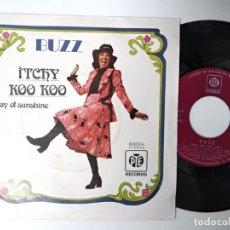 Discos de vinilo: BUZZ - TCHY KOO KOO / RAY OF SUNSHINE. Lote 195241952