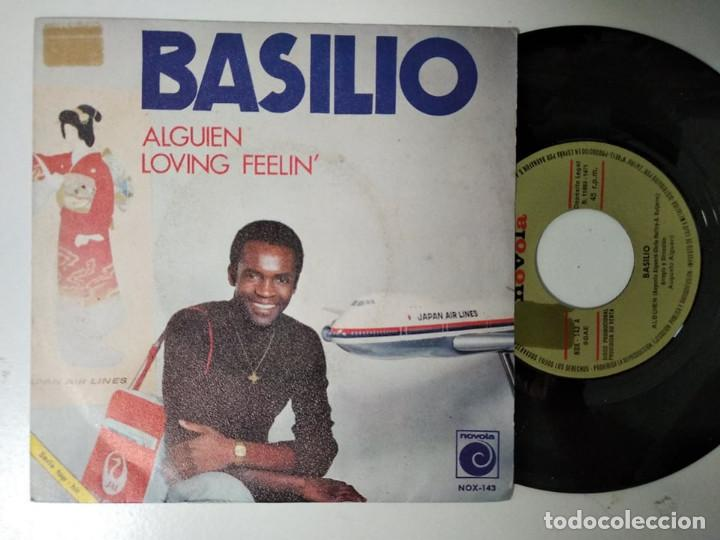 Discos de vinilo: BASILIO / ALGUIEN / LOVING FEELIN (SINGLE PROMO 1971) - Foto 1 - 195242356