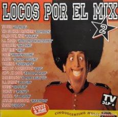 Discos de vinilo: LOCOS POR EL MIX 2. Lote 195243586