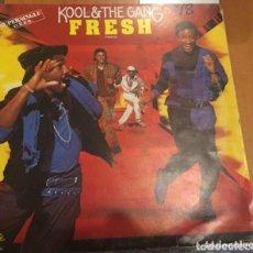 Discos de vinilo: KOOL THE GANG: FRESH. Lote 195244000