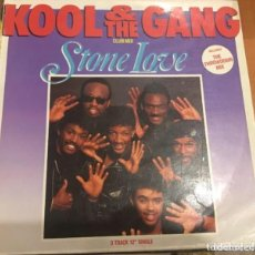 Discos de vinilo: KOOL THE GANG: STONE LOVE. Lote 195244105