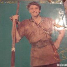 Discos de vinilo: HOMBRES G: LA CAGASTE. Lote 195244410