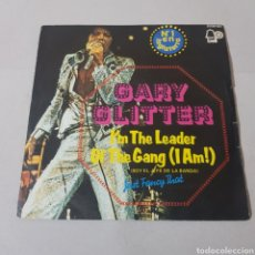 Discos de vinilo: GARY GLITTER - I'M THE LEADER - OF THE GANG ( I AM ). Lote 195244417