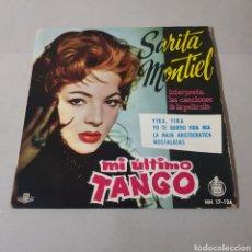 Discos de vinilo: SARITA MONTIEL - MI ULTIMO TANGO - YIRA - YO TE QUIERO VIDAA MIA - LA MAJA ARISTOCRATICA .... Lote 195244828