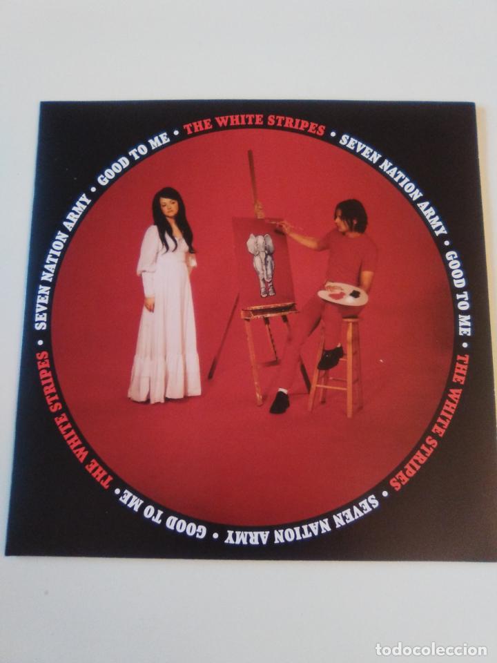 THE WHITE STRIPES SEVEN NATION ARMY / GOOD TO ME ( 2003 THIRD MAN RECORDS USA REED ) (Música - Discos - Singles Vinilo - Pop - Rock Extranjero de los 90 a la actualidad)