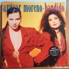 Discos de vinilo: AZÚCAR MORENO: BANDIDO. Lote 195245331