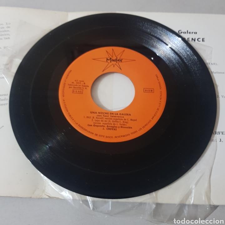 Discos de vinilo: TONY LAWRENCE UNA NOCHE EN LA GALERA- MONTECARLO - SELLO MARFER - Foto 4 - 195246362