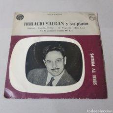 Discos de vinilo: HORACIO SALGAN Y SU PIANO - MALENA - TAQUITO MILITAR - UN TROPEZON - RISA LOCA - EN LA GUITARRA .... Lote 195246622