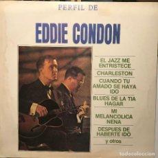 Discos de vinilo: LP ARGENTINO DE EDDIE CONDON AÑO 1984. Lote 195247545