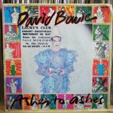 Discos de vinilo: DAVID BOWIE - ASHES TO ASHES -SINGLE 1980 FRANCIA. Lote 195249648