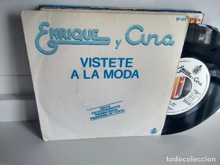 SINGLE ( VINILO)-PROMOCION- DE ENRIQUE Y ANA AÑOS 80 (Música - Discos - Singles Vinilo - Música Infantil)