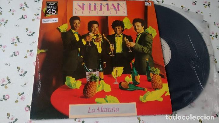 MAXISINGLE ( VINILO) DE SHERMAN BROTHERS AÑOS 80 (Música - Discos de Vinilo - Maxi Singles - Pop - Rock - New Wave Extranjero de los 80)