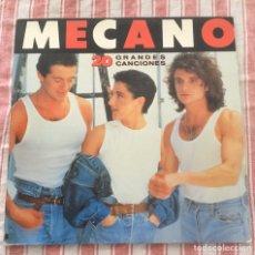 Discos de vinilo: VINILOS MECANO 20 GRANDES CANCIONES. Lote 195259657