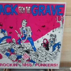 Discos de vinilo: BACK FROM THE GRAVE VOLUME ONE . LP VINILO BUEN ESTADO. GARAGE PUNK. Lote 195261328