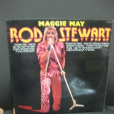 Discos de vinilo: MAGGIE MAY. ROD STEWART. LP 1981. LONDON.. Lote 195263333