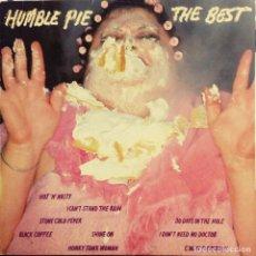 Discos de vinilo: HUMBLE PIE THE BEST. ALBUM VINILO CBS ESPAÑA 1982 ( PETER FRAMPTON, ESTEVE MARRIOTT ). Lote 195263360