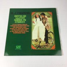 Discos de vinilo: LP - BJ THOMAS - RAINDROPS KEEP FALLING ON MY HEAD (ESPAÑA, 1974). Lote 195263372