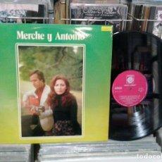 Discos de vinilo: LMV - MERCHE Y ANTONIO. NOVOLA 1978, REF. ZLF-819. Lote 195263468