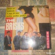Discos de vinilo: THE BRISKS - ALELUYA SURF EP DE 4 CANCIONES( BELTER 1965) OG ESPAÑA. Lote 195263972